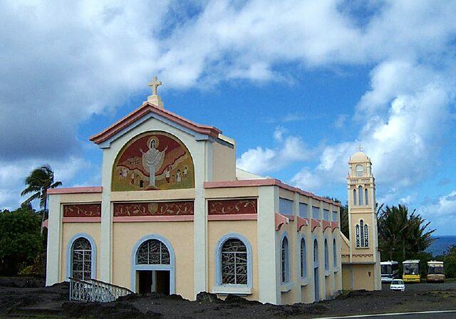 N.D. des Laves - Eglise de Piton Sainte-Rose.