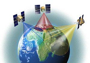 Positionnement par GPS sur la terre